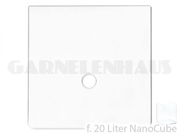 Cover glass f. Nano Cube, 20 l