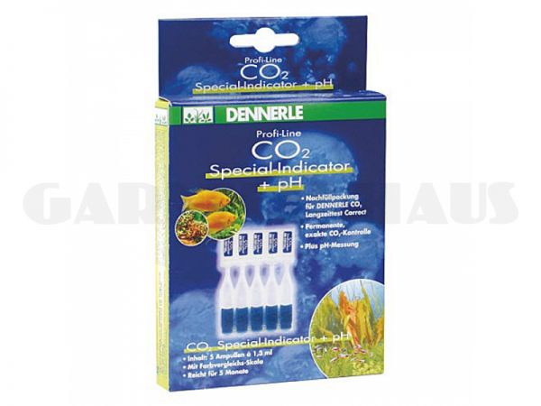 CO2 Special Indicator reagent + pH