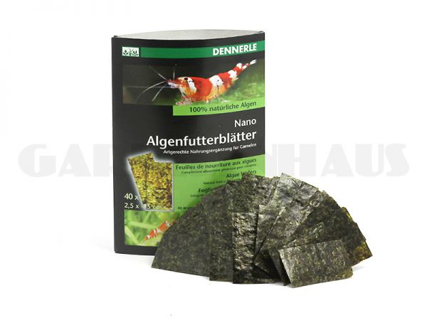 Nano algae wafers, 40 pcs.