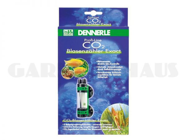 CO2 bubble counter Exact