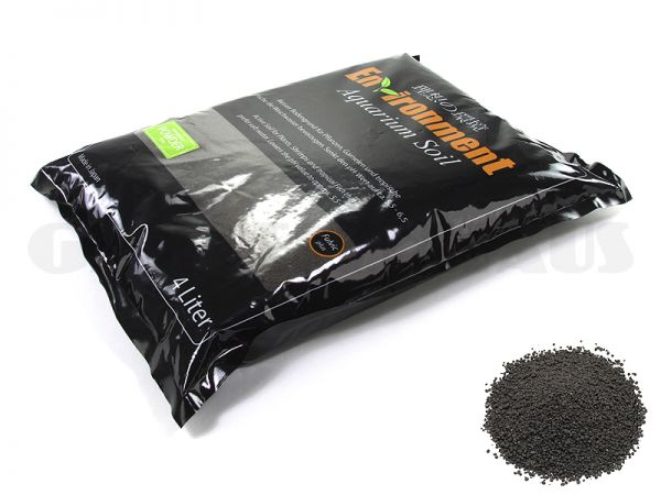 Environment Aquarium Soil Powder, 4 liters