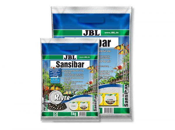 JBL - Sansibar RIVER Bodengrund für Aquarien