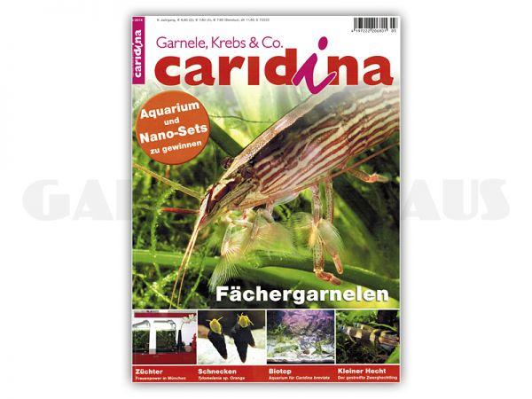 caridina, issue 3/2014 (in German)