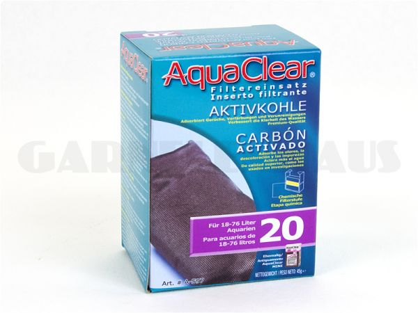 AquaClear - PF 20 activated carbon cartridge