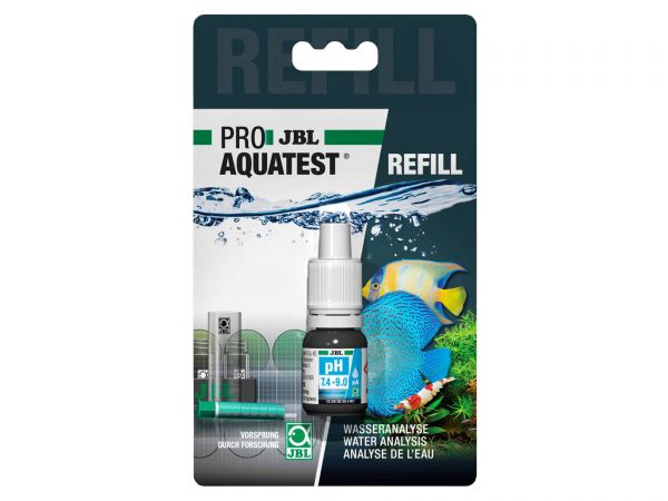 JBL - Pro Aquatest pH 7,4 - 9,0 Reagent, Refill-Pack