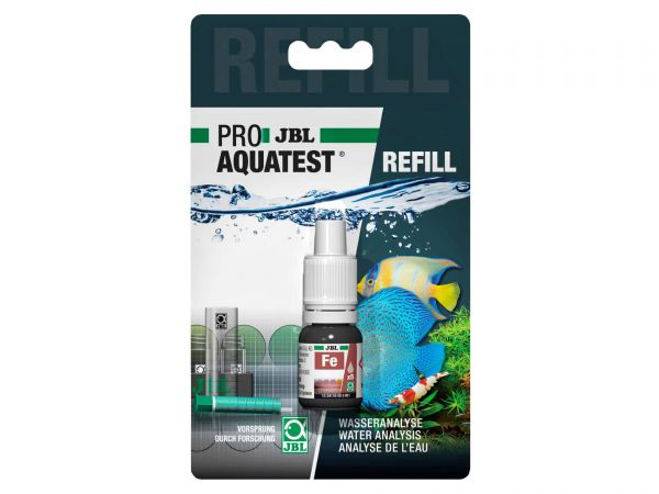 JBL - Pro Aquatest Fe (Iron) Reagents, Refill-Pack