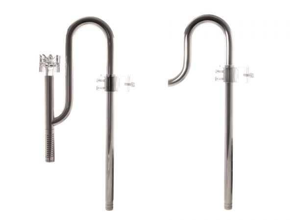 GH-GOODS Stainless Steal Set - Filter Inflow & Outflow incl. Skimmer