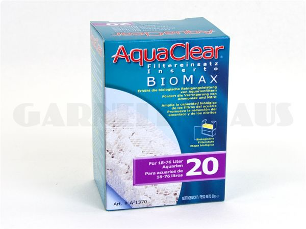 AquaClear - PF 20 Biomax filter insert
