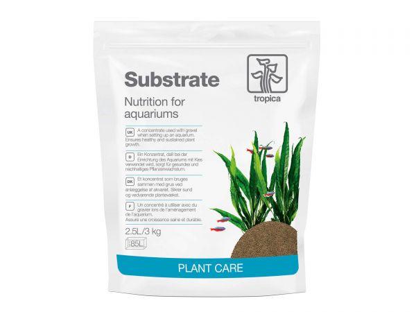 Tropica - Plant Growth Substrate, 2,5 Liter - Nährboden (Nutritions) für Aquarien