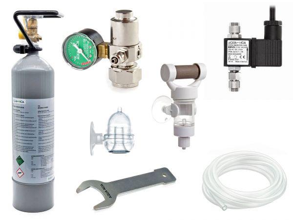 AQUA-NOA - CO2 Komplett-Set Mehrweg Basic - CO2 für Dein Aquarium