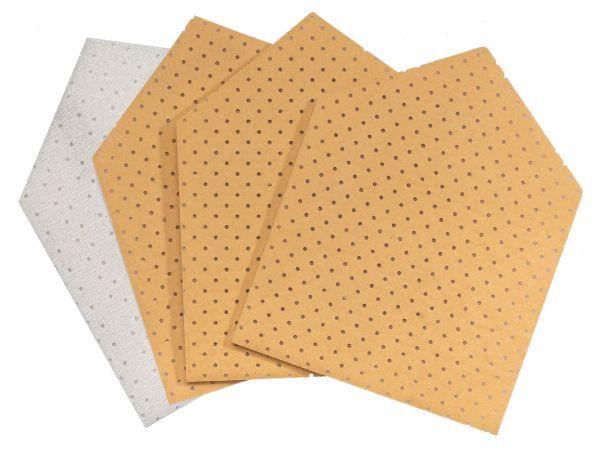 JÖST Chamois leather PENTAGON, 4-pack