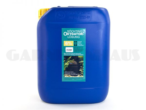 Oxydator D/A - solution 6%, 5 litres