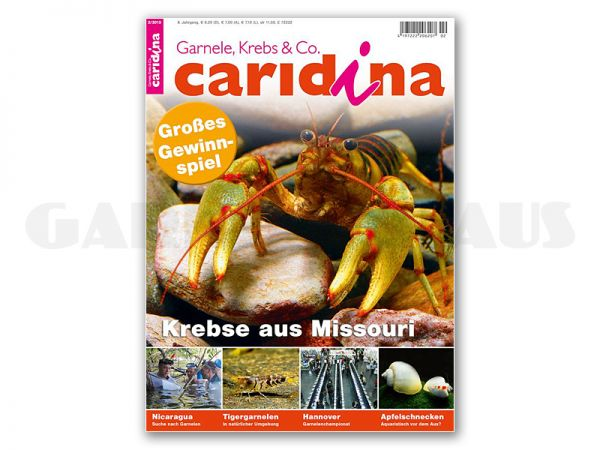 caridina, issue 2/2013 (in German)