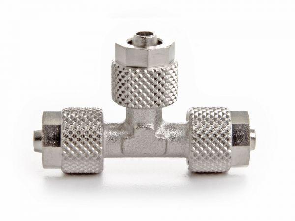 Aqua-Noa CO2-Splitter / T-Splitter, Nickel-plated brass