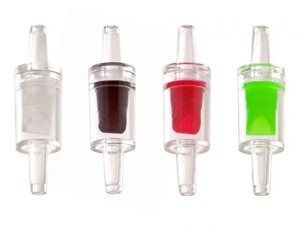 GH-GOODS - Rücklaufventil (Check Valve) für Aquarien in 4 Farben