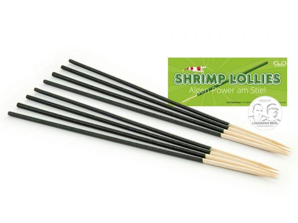 Shrimp Lollies - Algen Power - Garnelen-Futterlolly / Futtersticks