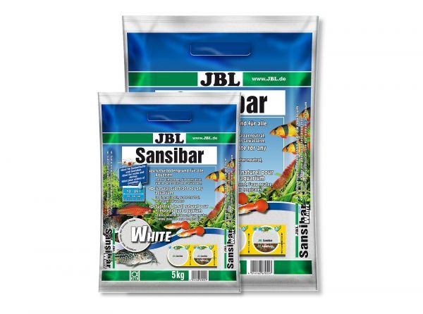 JBL - Sansibar WHITE Bodengrund für Aquarien