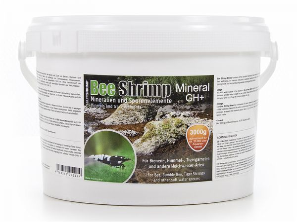Bee Shrimp Mineral GH+, 3000g