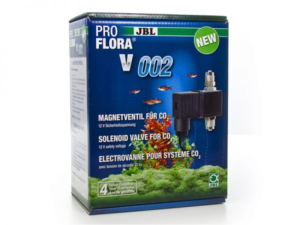 ProFlora v002, solenoid valve