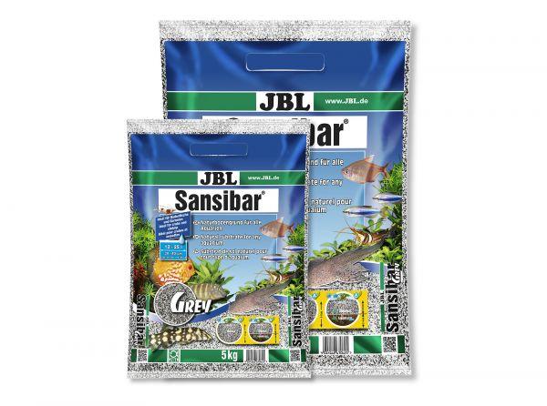 JBL - Sansibar GREY Bodengrund für Aquarien