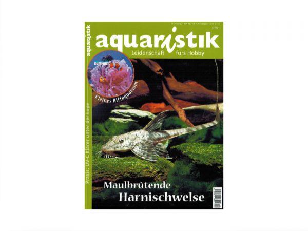 aquaristik - Leidenschaft fürs Hobby, Ausgabe 2/2021