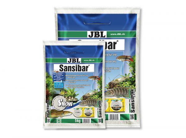 JBL - Sansibar SNOW Bodengrund für Aquarien