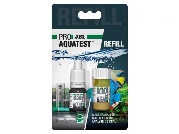 JBL - Pro Aquatest K (Potassium) Reagents, Refill-Pack