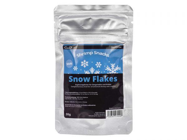 GlasGarten - Garnelenfutter Shrimp Snacks Snow Flakes, 30g