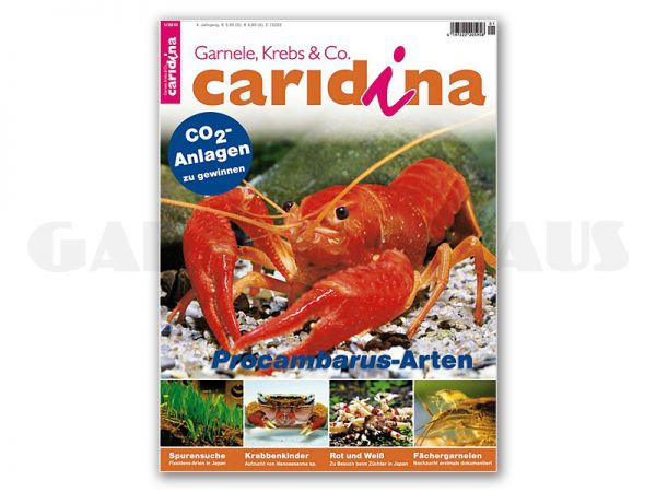 caridina, issue 1/2010 (in German)