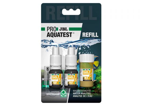 JBL - Pro Aquatest SiO2 (Silicate) Reagents, Refill-Pack