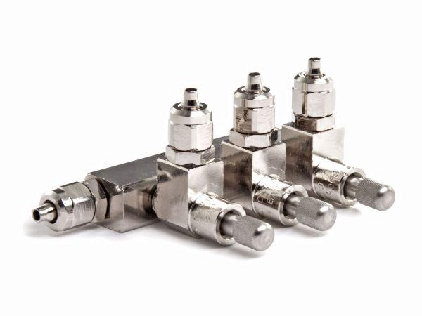 Aqua-Noa CO2-Verteiler, 3-fach mit integrierten Nadelventilen