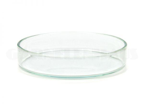 Glass food bowl, 74/15 mm