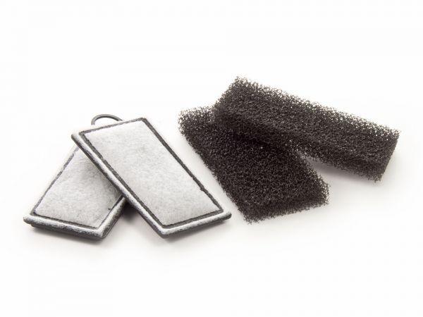 AZOO Ersatz-Filterkartuschen, Filterschwamm, Aktivkohle-Pads