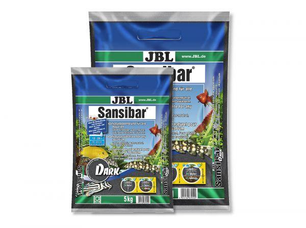 JBL - Sansibar DARK Bodengrund für Aquarien