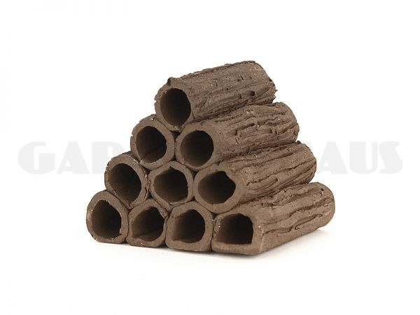 Shrimp House S (set of 10 clay tubes)