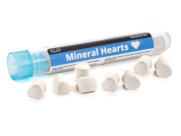 GlasGarten - Mineral Hearts (Mineralien-Herzchen) für Garnelen und Schnecken im Aquarium